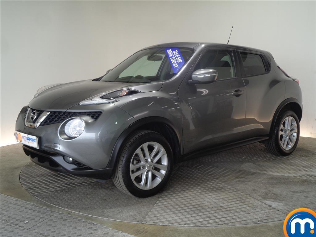 Nissan Juke Acenta - Stock Number (1027726) - Passenger side front corner