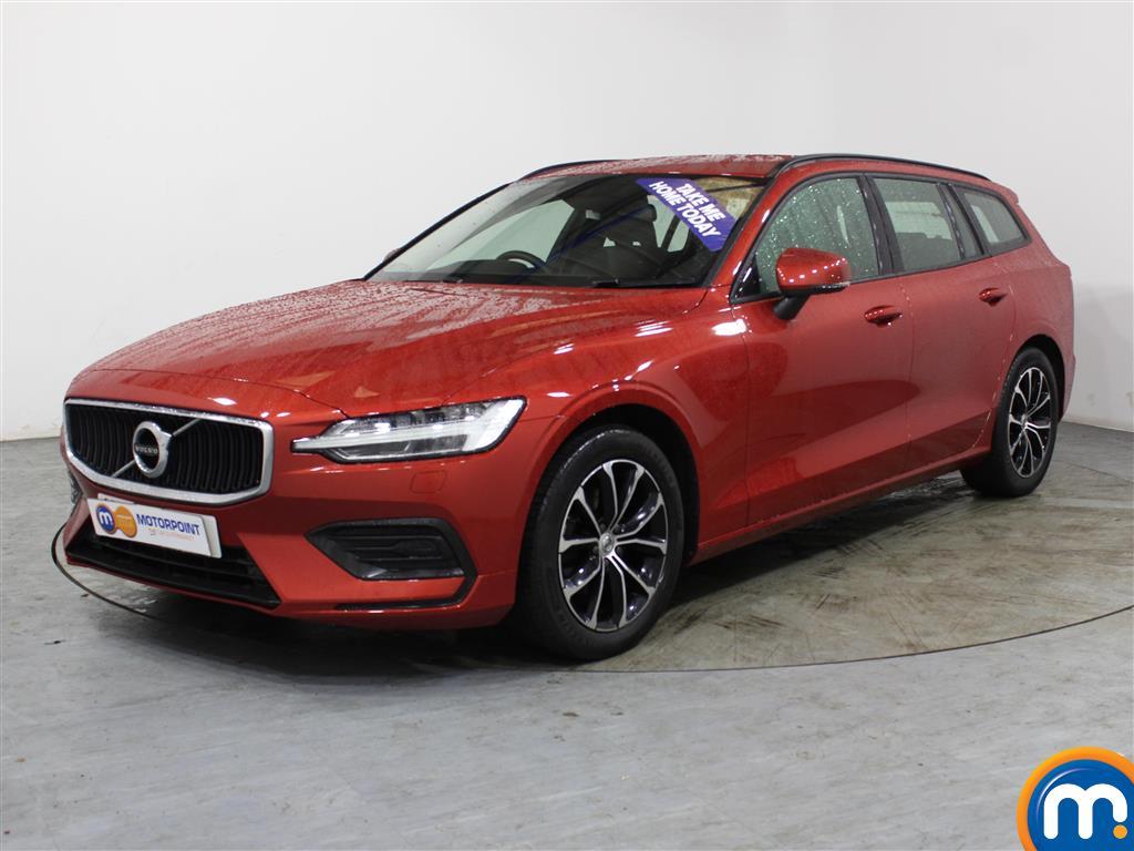Volvo V60 Momentum - Stock Number (1017609) - Passenger side front corner