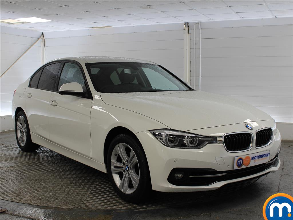 BMW 3 Series Sport Automatic Petrol Saloon - Stock Number (998922) - Drivers side front corner