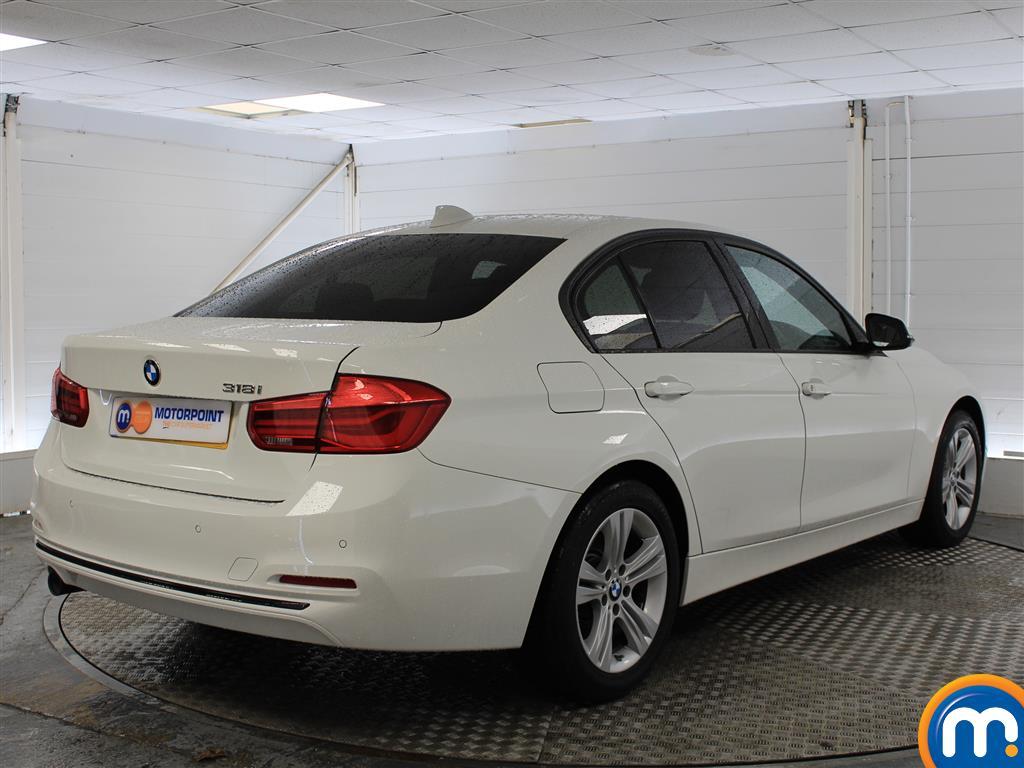 BMW 3 Series Sport Automatic Petrol Saloon - Stock Number (998922) - Drivers side rear corner