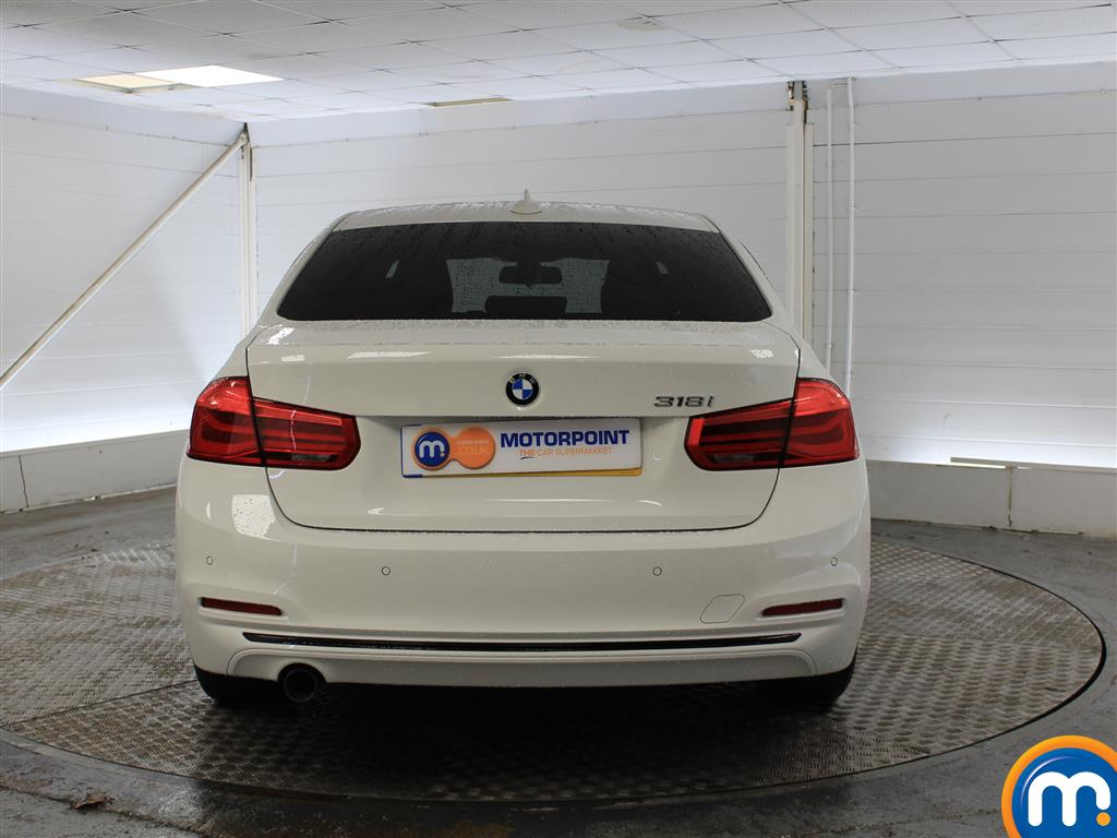 BMW 3 Series Sport Automatic Petrol Saloon - Stock Number (998922) - Rear bumper