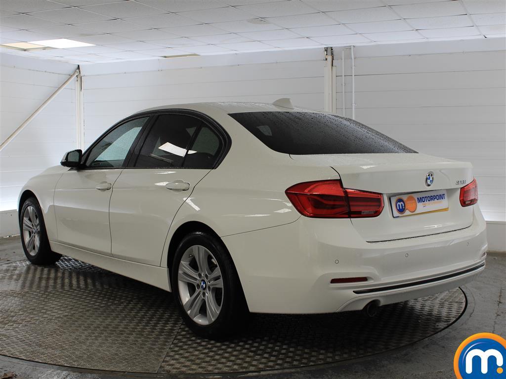 BMW 3 Series Sport Automatic Petrol Saloon - Stock Number (998922) - Passenger side rear corner