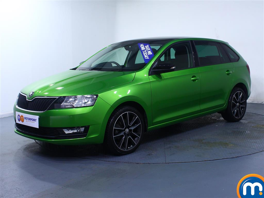 Skoda Rapid Spaceback SE Sport - Stock Number (1027787) - Passenger side front corner
