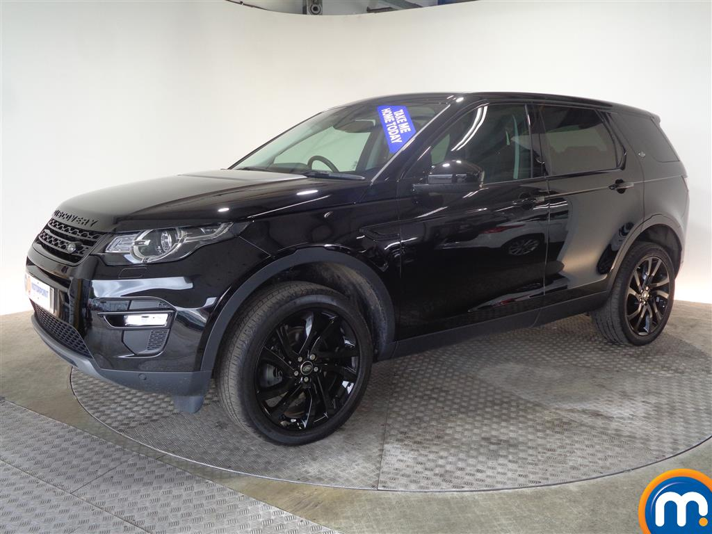 Land Rover Discovery Sport HSE Black - Stock Number (1027394) - Passenger side front corner