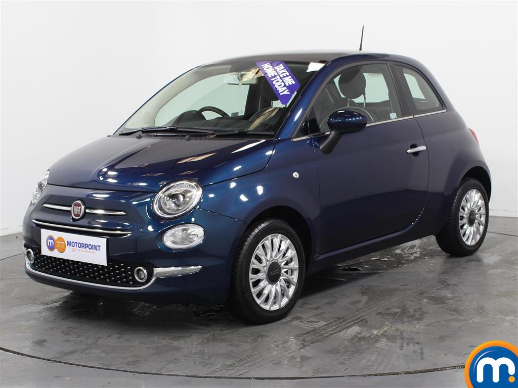 Fiat 500 Lounge - Stock Number (1026339) - Passenger side front corner