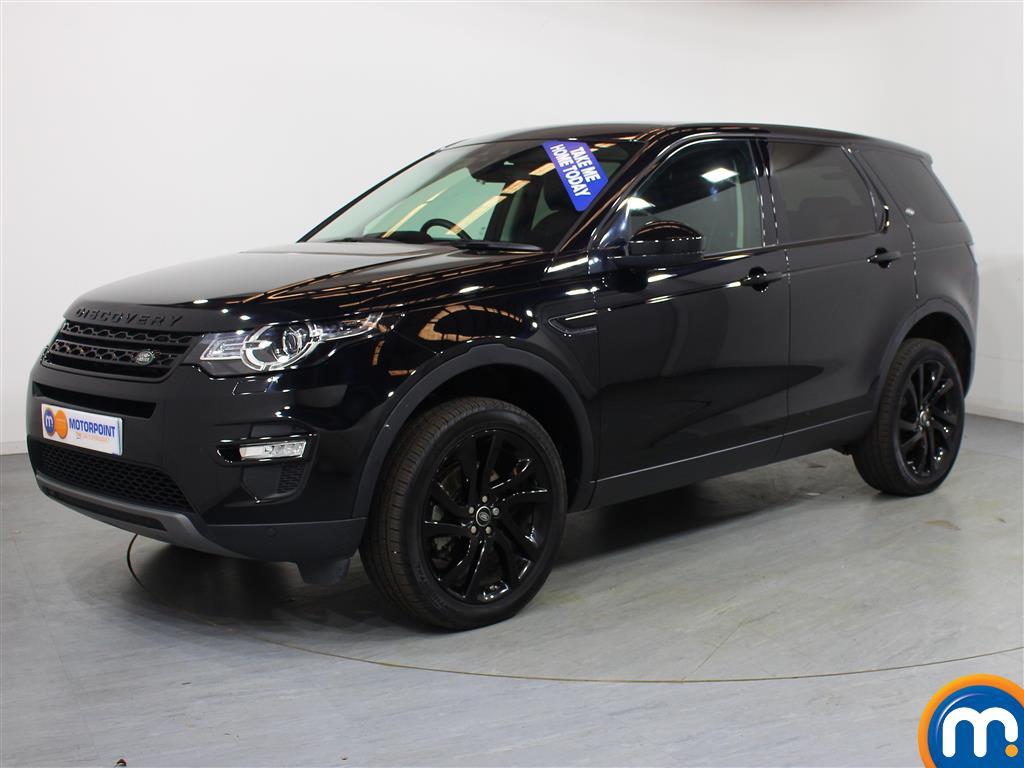 Land Rover Discovery Sport HSE Black - Stock Number (1020966) - Passenger side front corner