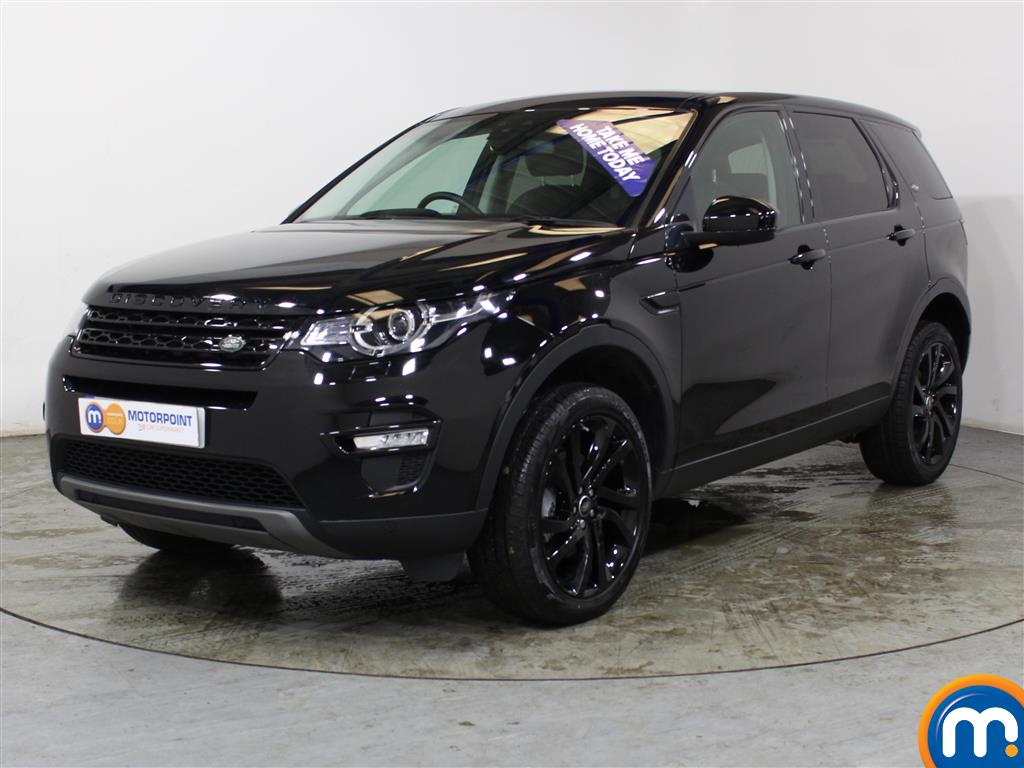 Land Rover Discovery Sport HSE Black - Stock Number (1021880) - Passenger side front corner