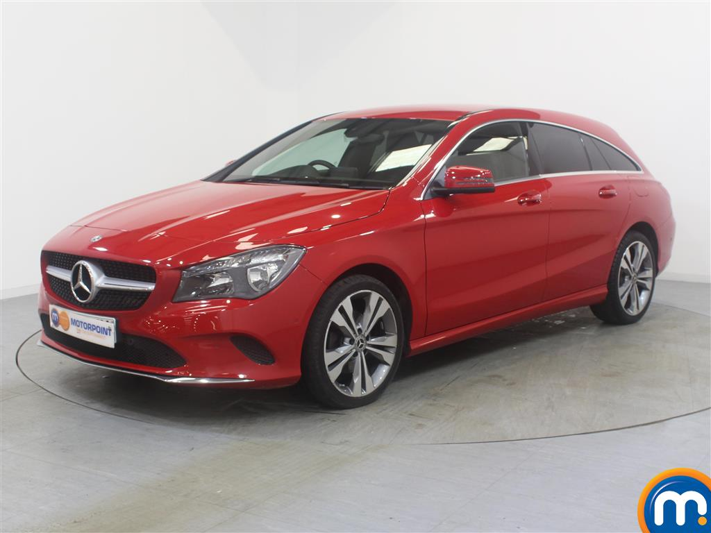 Mercedes-Benz Cla Class Sport - Stock Number (1028676) - Passenger side front corner