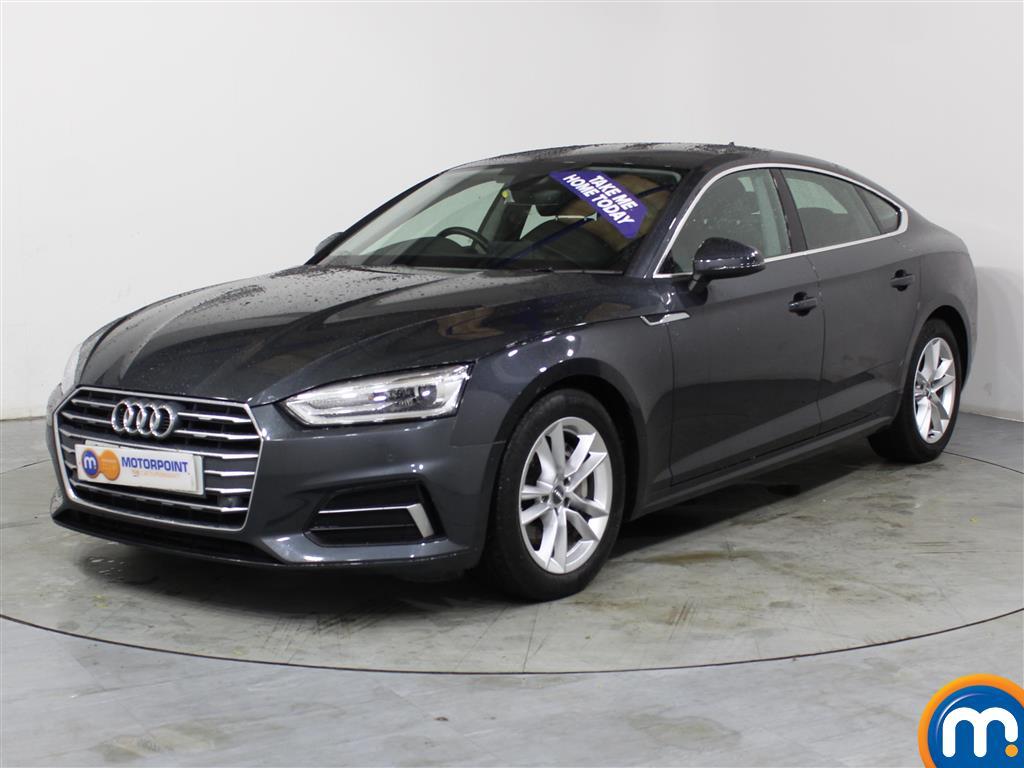 Audi A5 Sport - Stock Number (1023572) - Passenger side front corner