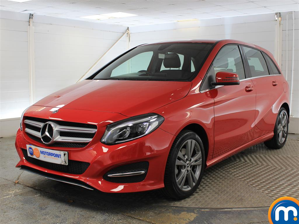 Mercedes-Benz B Class Exclusive Edition - Stock Number (1027041) - Passenger side front corner