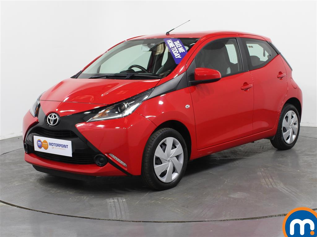 Toyota Aygo X-Play - Stock Number (1023766) - Passenger side front corner