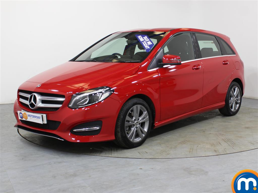 Mercedes-Benz B Class Exclusive Edition - Stock Number (1024215) - Passenger side front corner