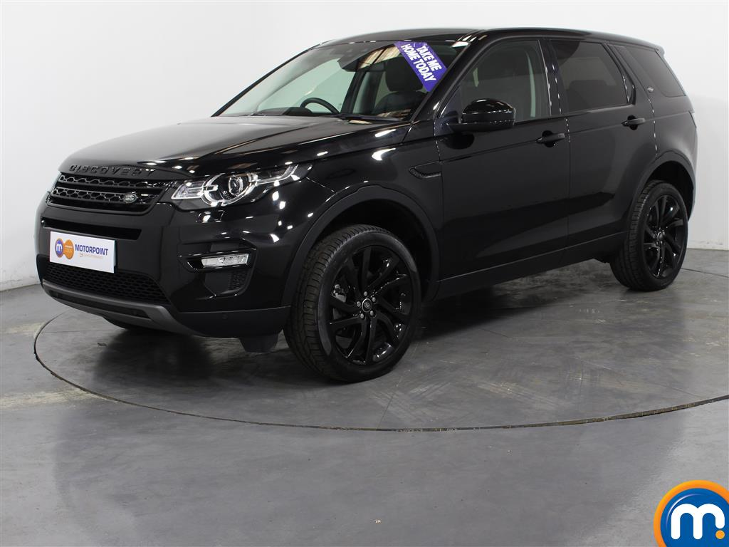 Land Rover Discovery Sport HSE Black - Stock Number (1027196) - Passenger side front corner
