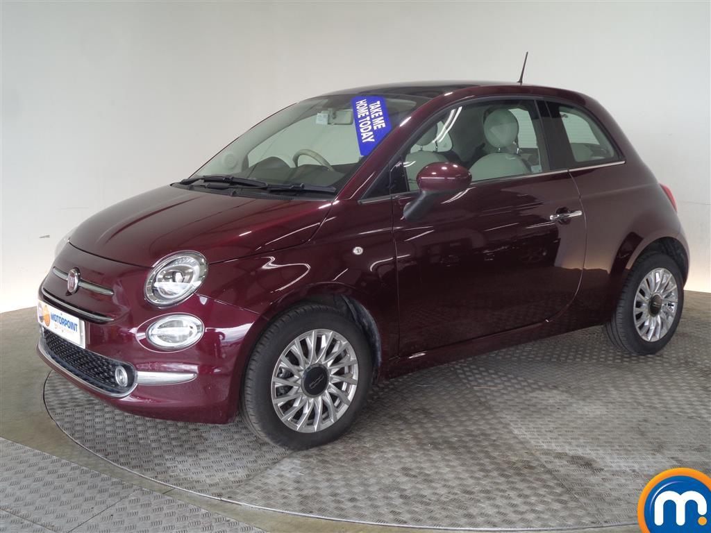 Fiat 500 Lounge - Stock Number (1026378) - Passenger side front corner
