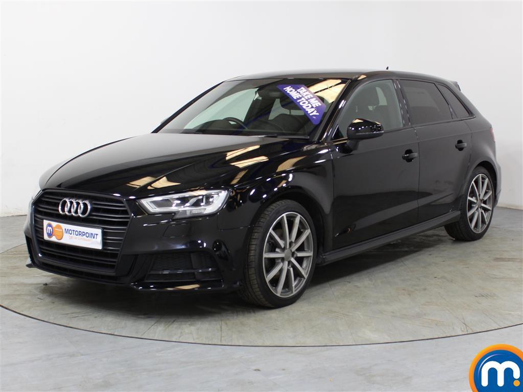Audi A3 Black Edition - Stock Number (1018290) - Passenger side front corner