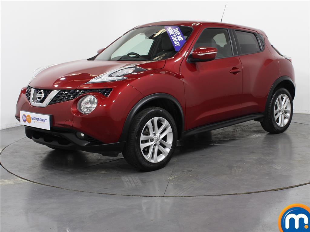 Nissan Juke N-Connecta - Stock Number (1025656) - Passenger side front corner
