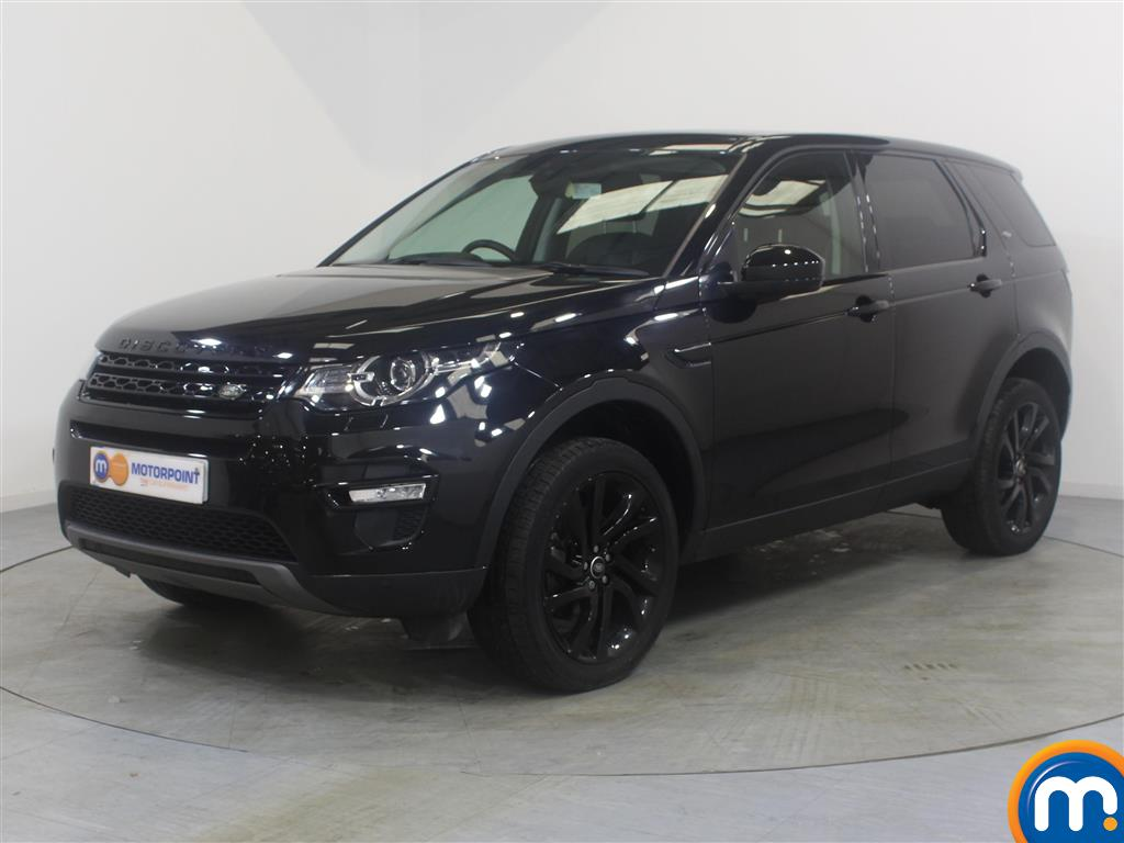 Land Rover Discovery Sport HSE Black - Stock Number (1028112) - Passenger side front corner