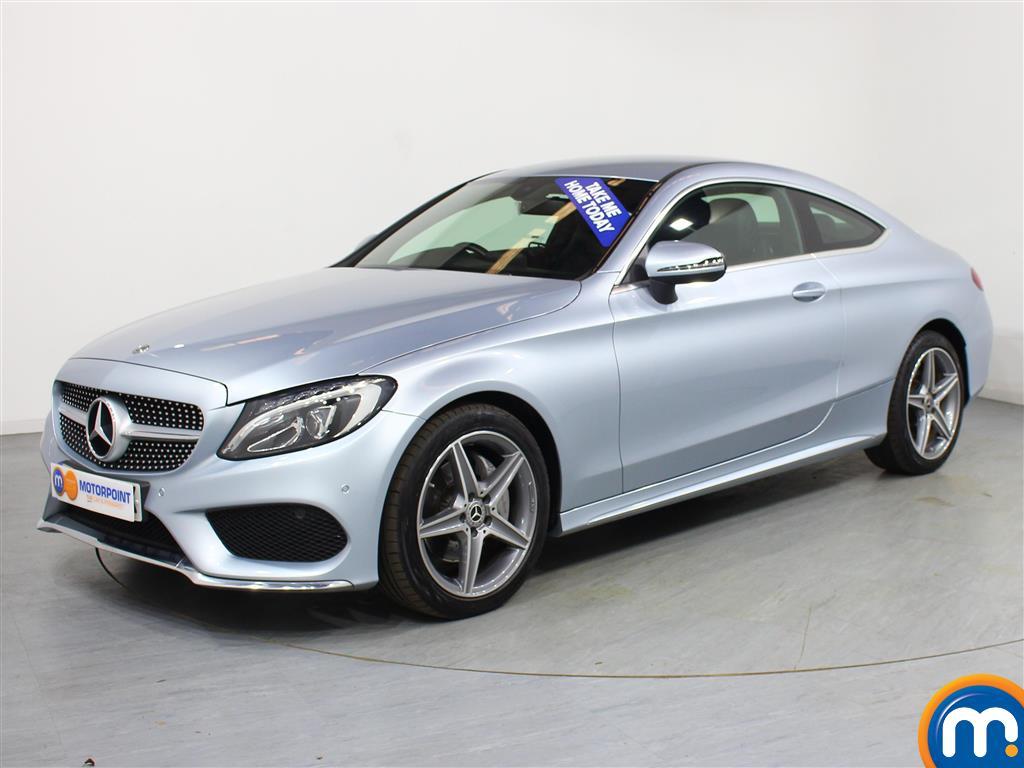 Mercedes-Benz C Class AMG Line - Stock Number (1024037) - Passenger side front corner