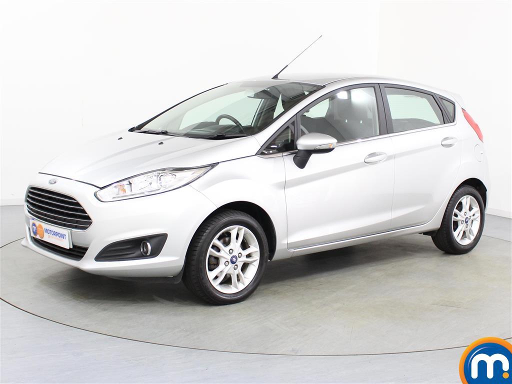 Ford Fiesta Zetec - Stock Number (1028509) - Passenger side front corner