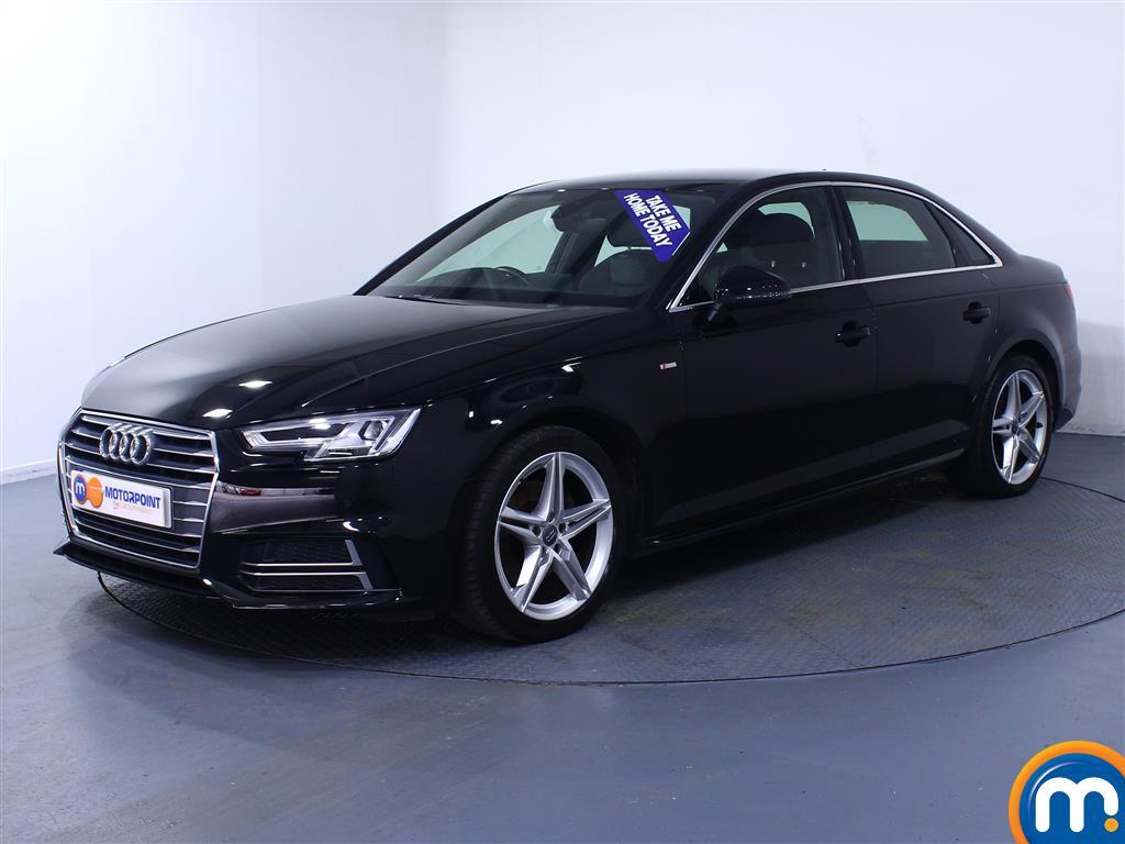 Audi A4 S Line - Stock Number (1027052) - Passenger side front corner