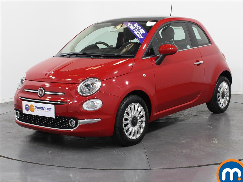 Fiat 500 Lounge - Stock Number (1022022) - Passenger side front corner