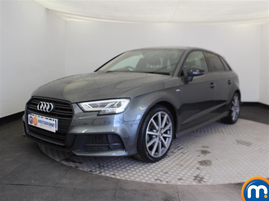 Audi A3 Black Edition - Stock Number (1027188) - Passenger side front corner