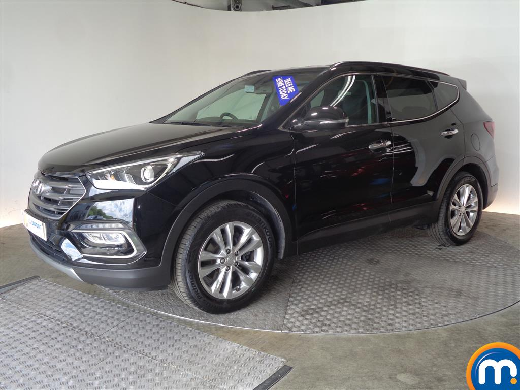 Hyundai Santa Fe Premium - Stock Number (1017201) - Passenger side front corner
