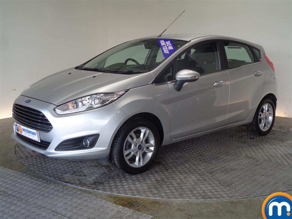 Ford Fiesta Zetec - Stock Number (1022644) - Passenger side front corner