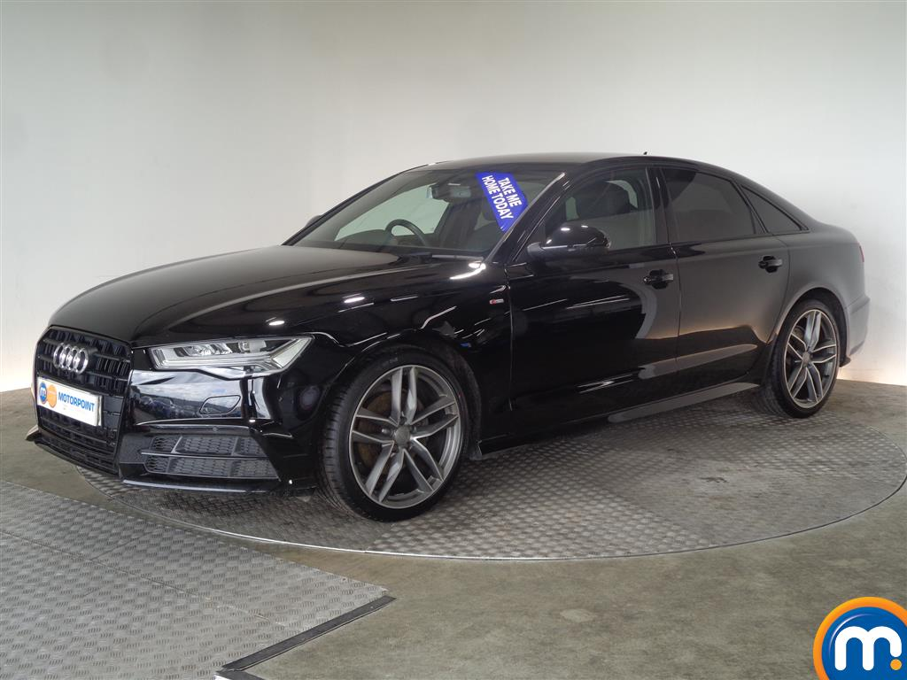 Audi A6 Black Edition - Stock Number (1024563) - Passenger side front corner
