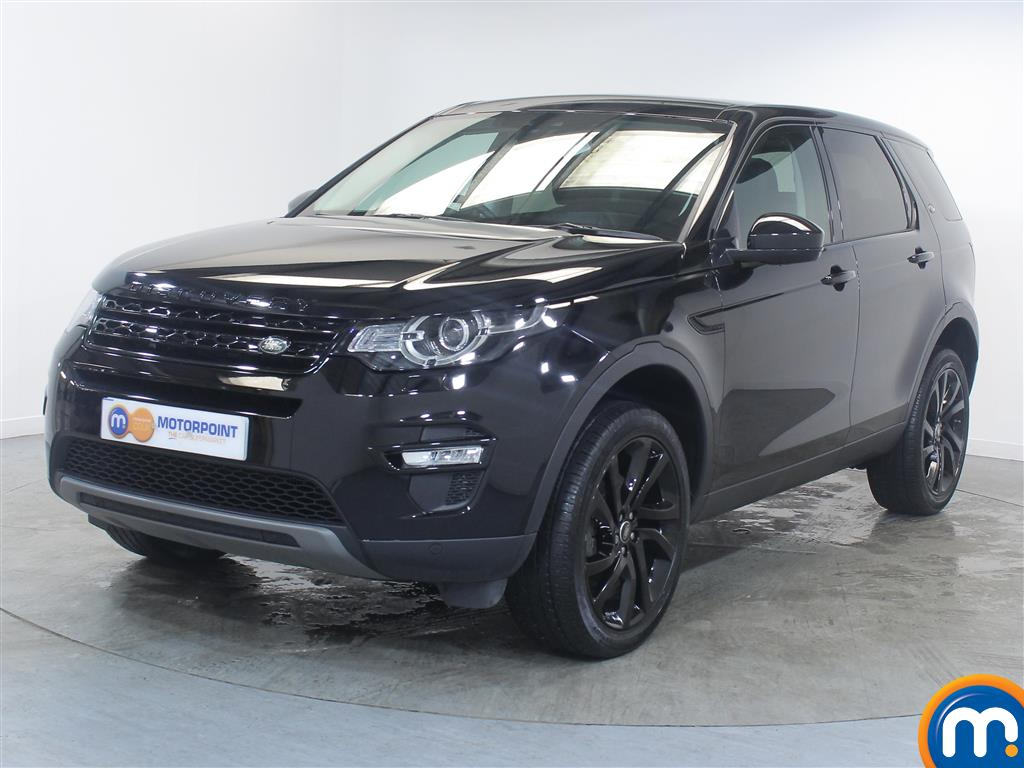 Land Rover Discovery Sport HSE Black - Stock Number (1022711) - Passenger side front corner