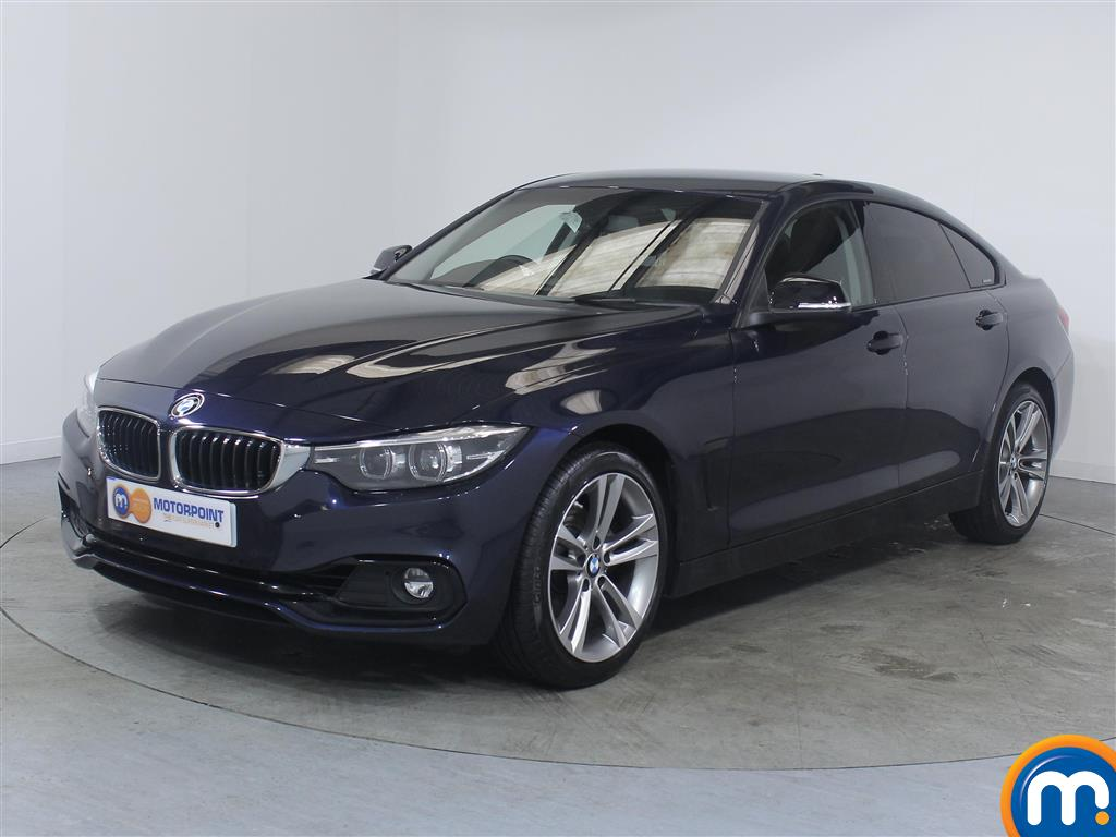 BMW 4 Series Sport - Stock Number (1018187) - Passenger side front corner