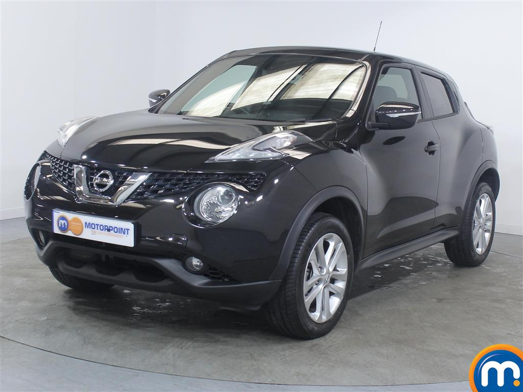 Nissan Juke N-Connecta - Stock Number 1022600 Passenger side front corner