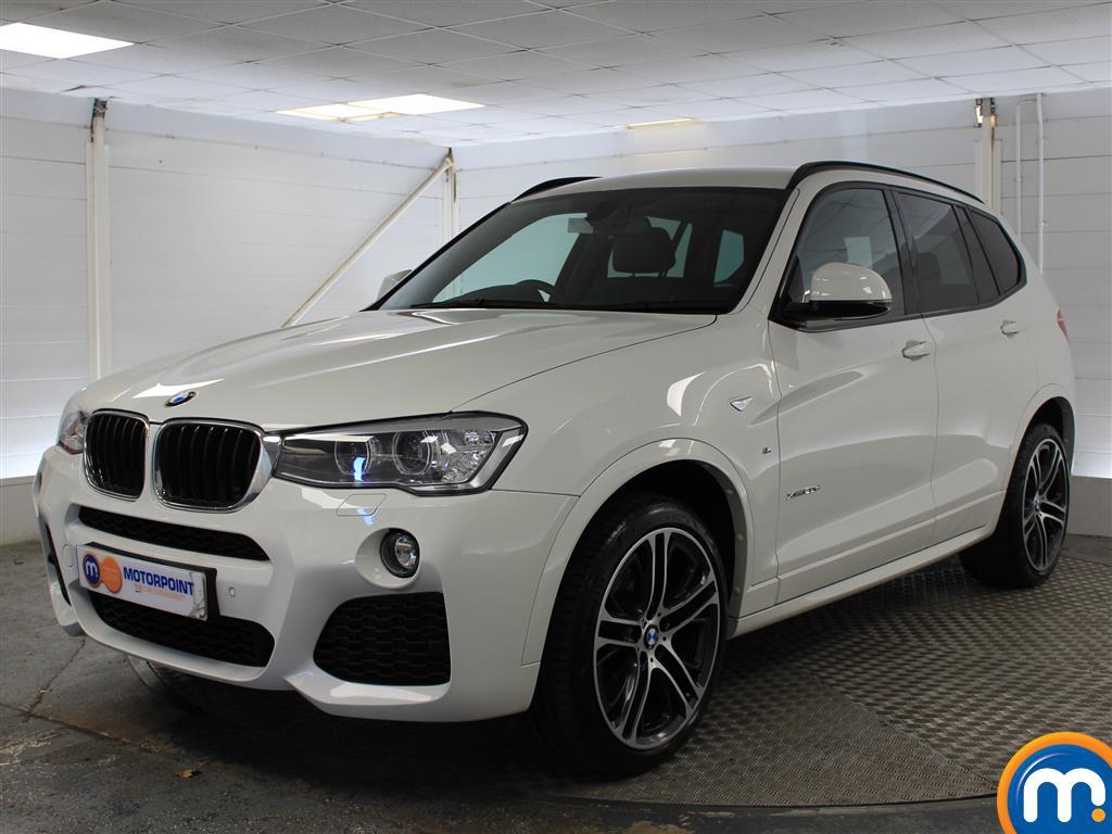 BMW X3 M Sport - Stock Number (1030465) - Passenger side front corner