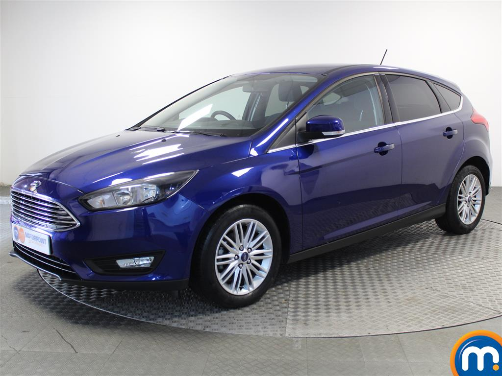 Ford Focus Zetec Edition - Stock Number (1025728) - Passenger side front corner