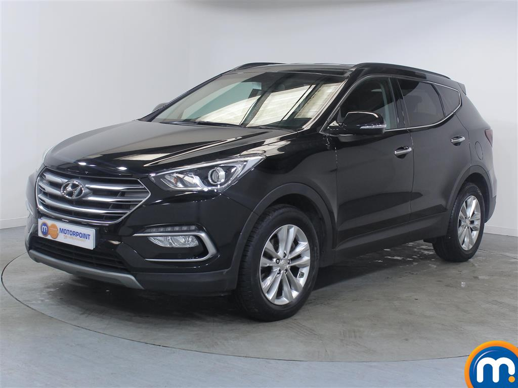 Hyundai Santa Fe Premium - Stock Number (1017228) - Passenger side front corner