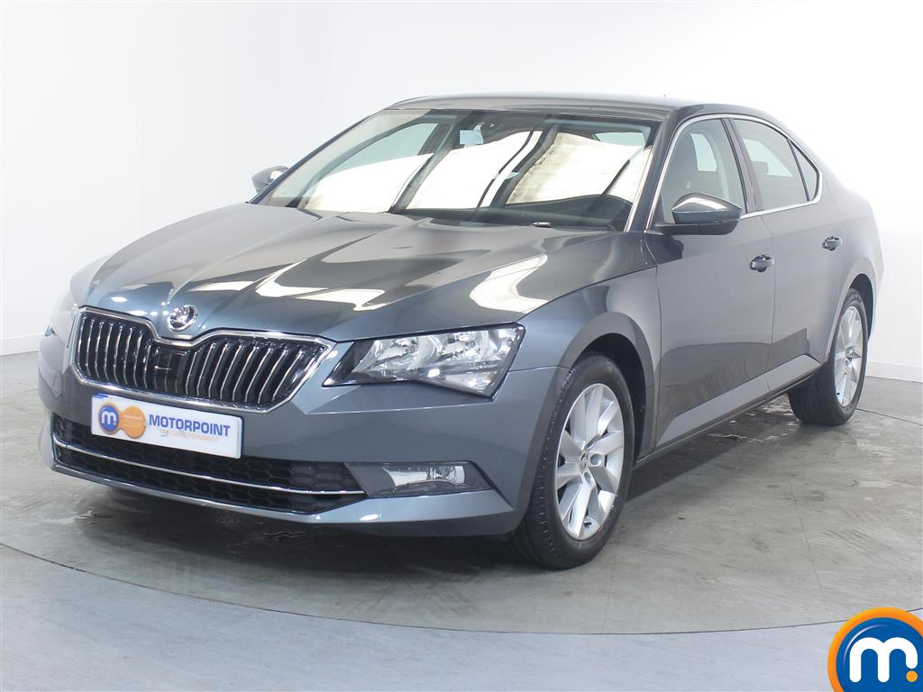 Skoda Superb SE - Stock Number (1023912) - Passenger side front corner