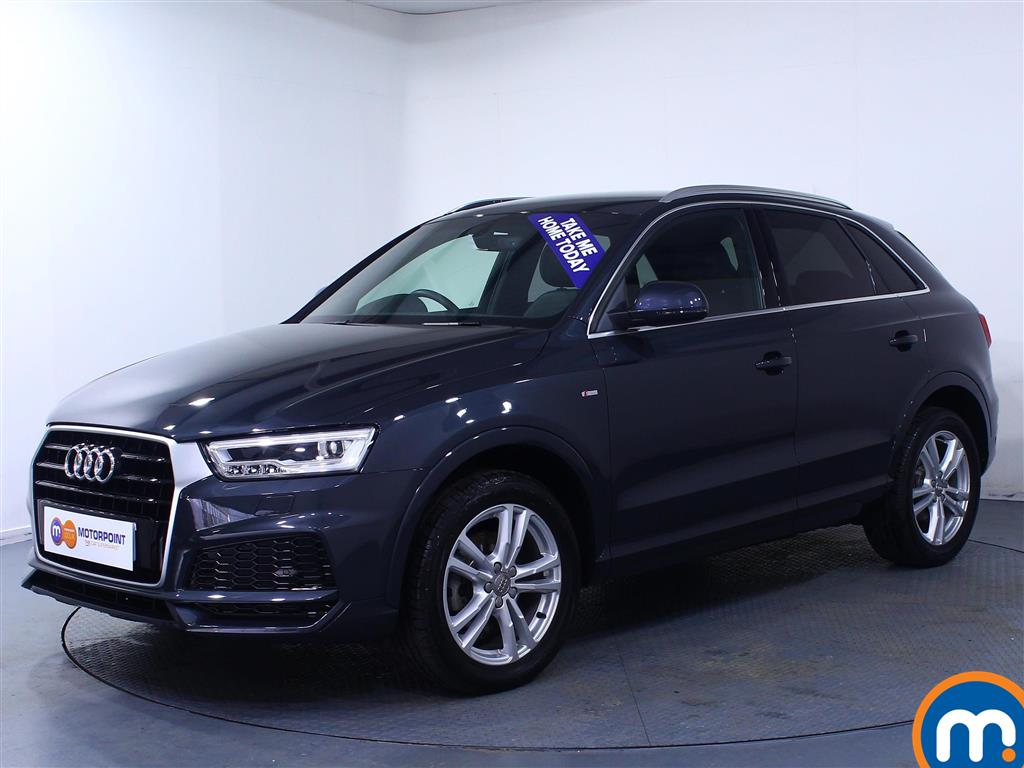 Audi Q3 S Line Edition - Stock Number (1030288) - Passenger side front corner