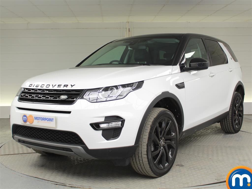 Land Rover Discovery Sport HSE Black - Stock Number (1024679) - Passenger side front corner