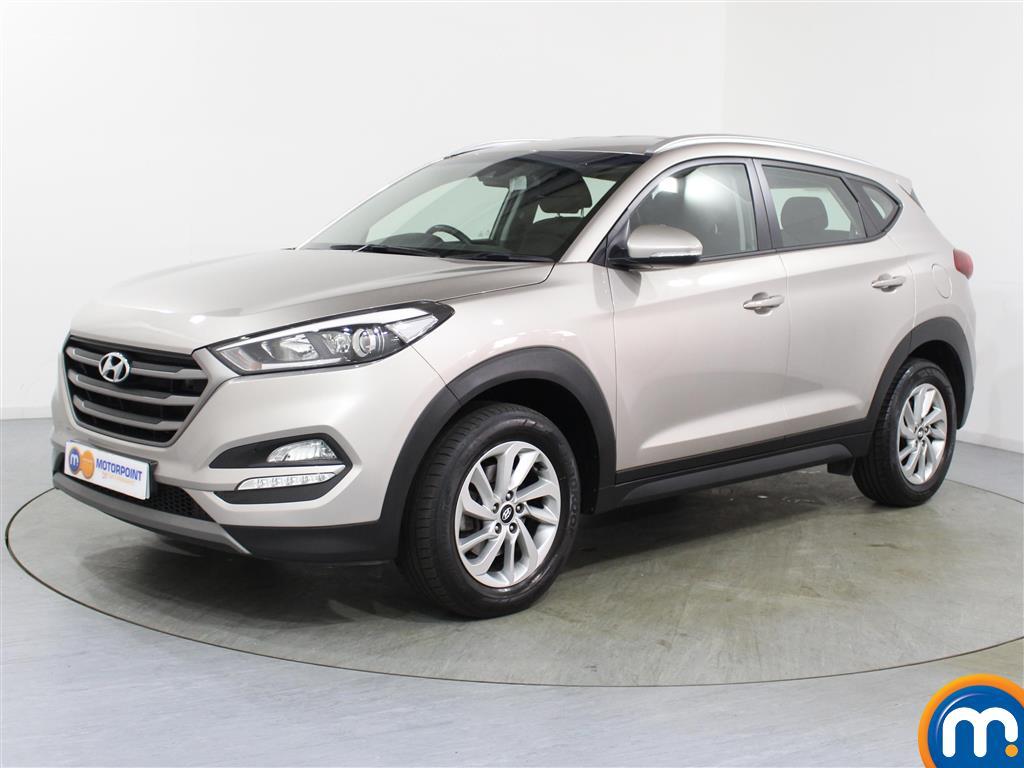 Hyundai Tucson SE - Stock Number (1023484) - Passenger side front corner
