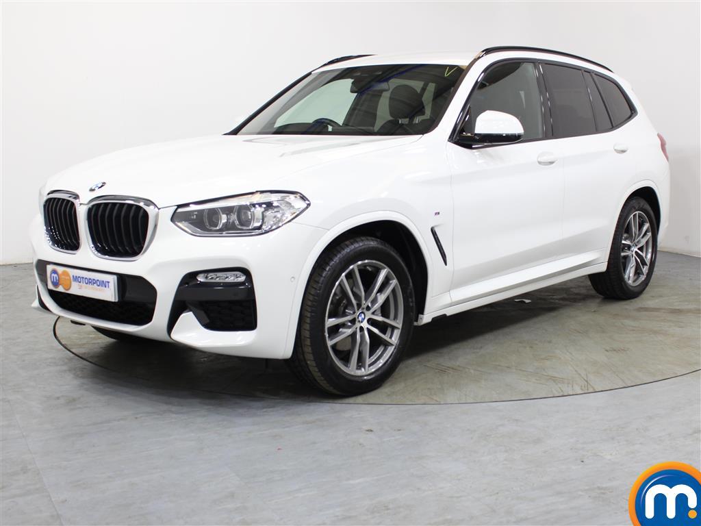 BMW X3 M Sport - Stock Number 1024654 Passenger side front corner
