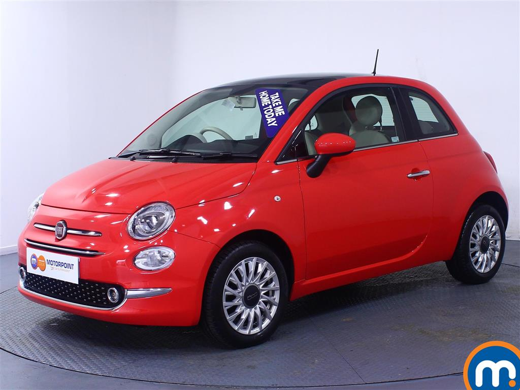 Fiat 500 Lounge - Stock Number (1028747) - Passenger side front corner