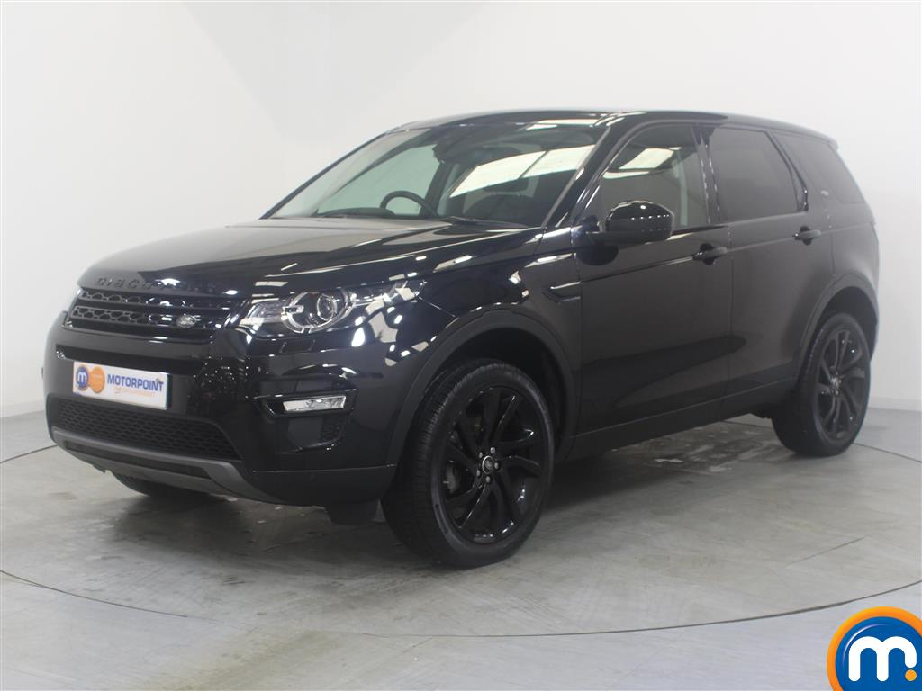 Land Rover Discovery Sport HSE Black - Stock Number (1029335) - Passenger side front corner