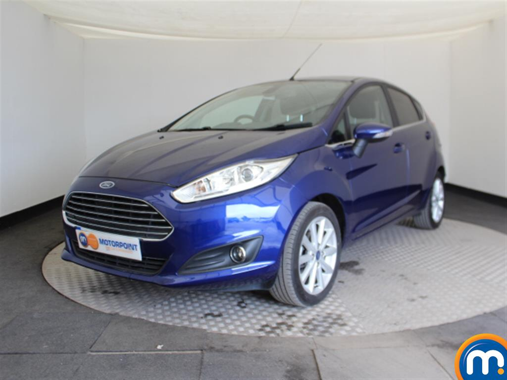 Ford Fiesta Titanium - Stock Number (1027543) - Passenger side front corner
