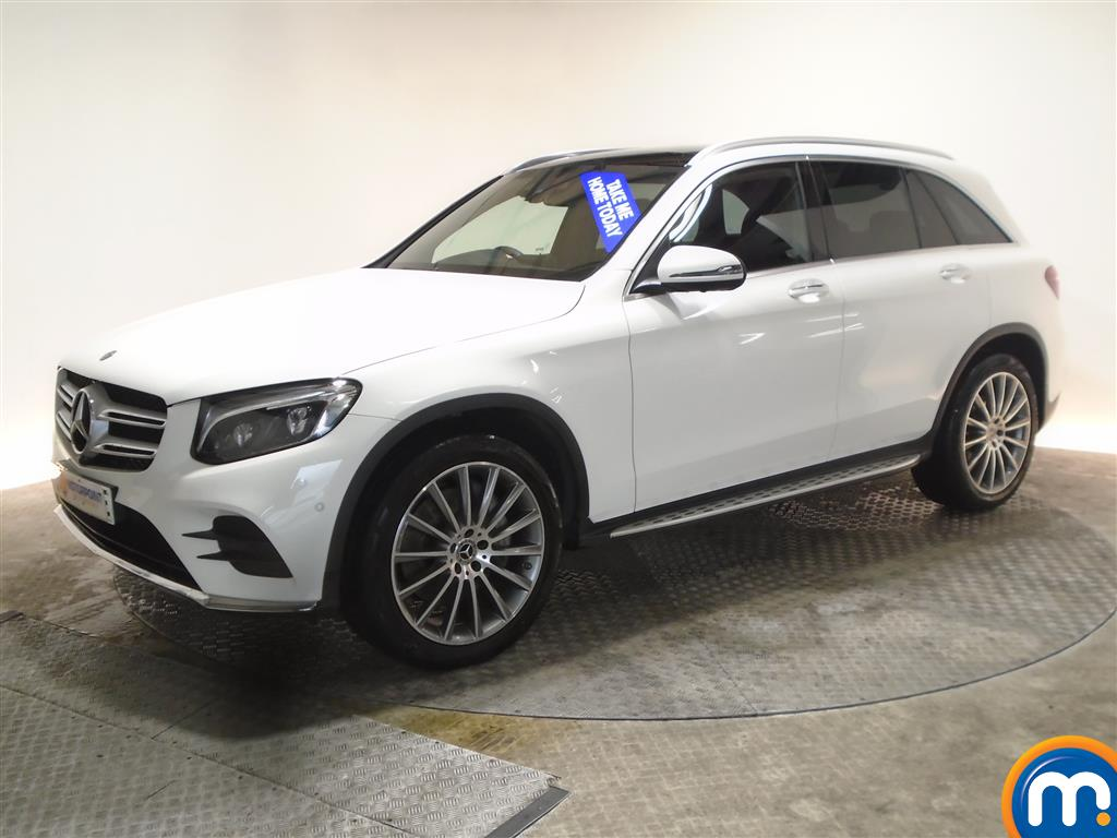 Mercedes-Benz GLC AMG Line - Stock Number 1031320 Passenger side front corner