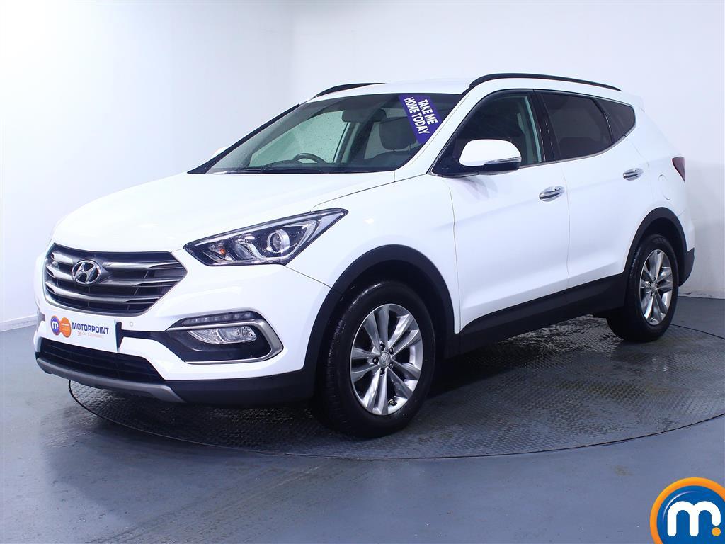 Hyundai Santa Fe Premium - Stock Number (1027963) - Passenger side front corner