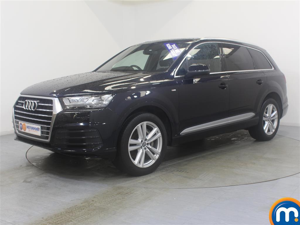 Audi Q7 S Line - Stock Number (1024696) - Passenger side front corner