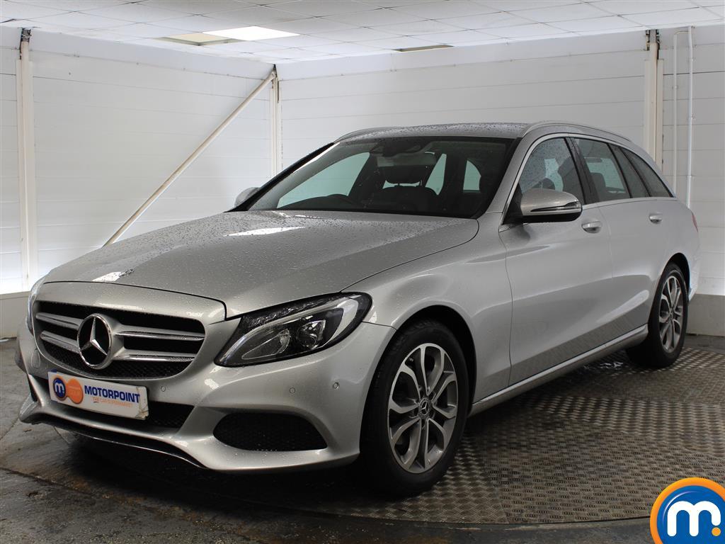 Mercedes-Benz C Class Sport - Stock Number (1027834) - Passenger side front corner
