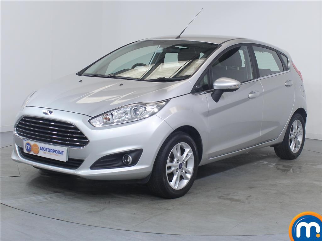 Ford Fiesta Zetec - Stock Number (1023605) - Passenger side front corner