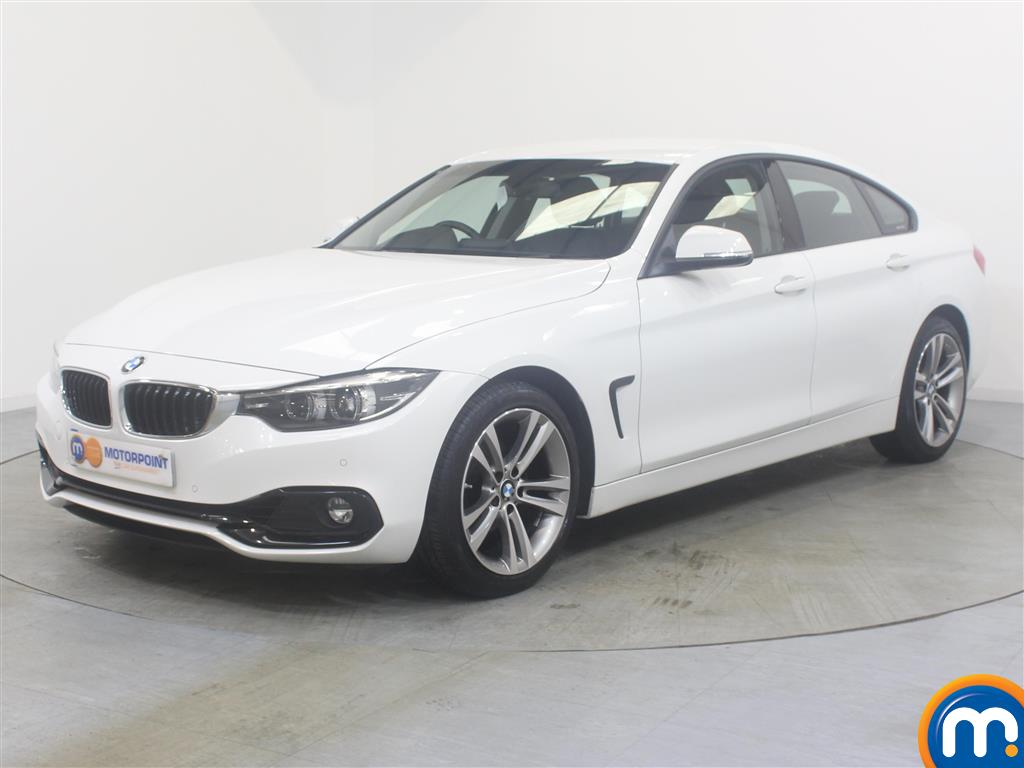 BMW 4 Series Sport - Stock Number (1029607) - Passenger side front corner