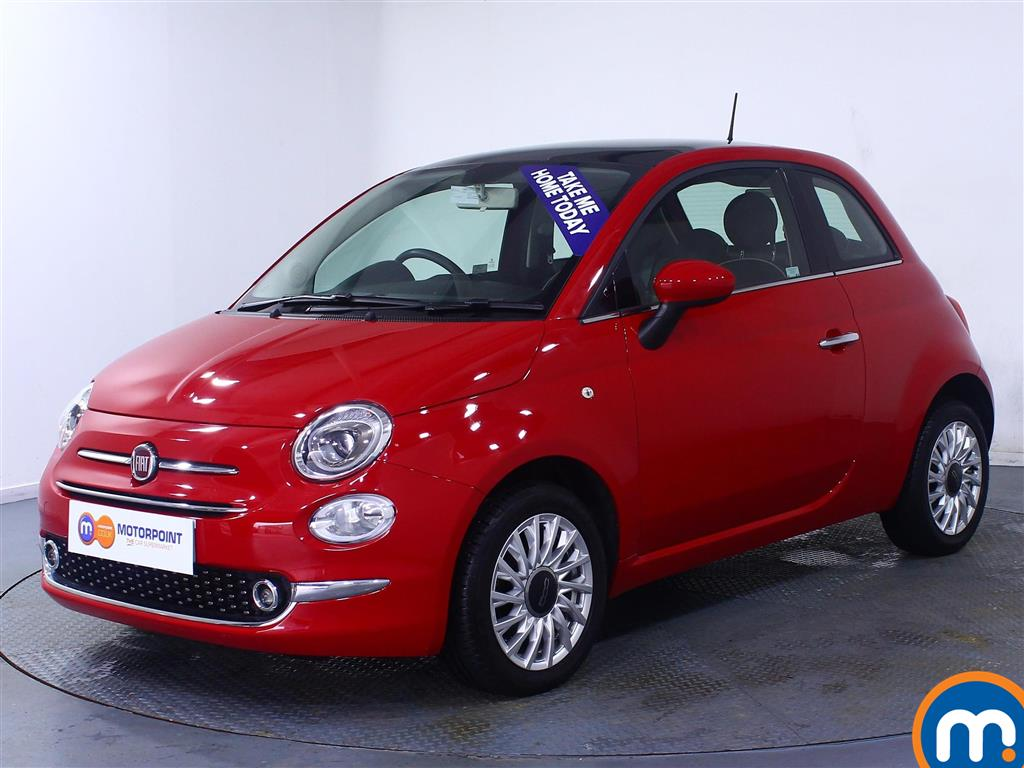 Fiat 500 Lounge - Stock Number (1028752) - Passenger side front corner